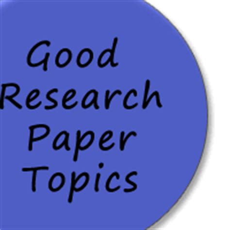 List of term paper subjects